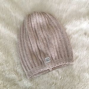 MADEWELL Softest Ribbed Beanie Hat Tan Style B0317